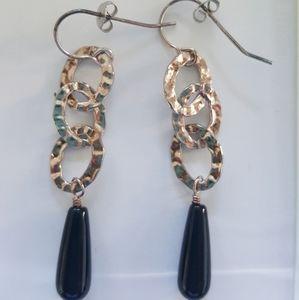 Silpada Black Onyx Earrings